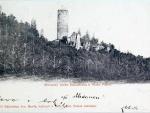 zřícenina hradu Šelmberk 1900