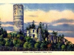 zřícenina hradu Šelmberk 1925