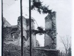 zřícenina hradu Šelmberk 1940