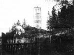 zřícenina hradu Šelmberk kolem r.1900